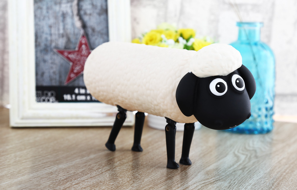 Cartoon Sheep Shaped Water Bottle Portable Drinking Cup 300ml