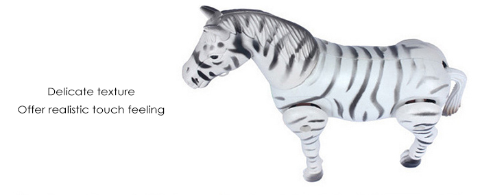Electric Motor Zebra Horse Circle Walking Toy for Toddler Baby Kid