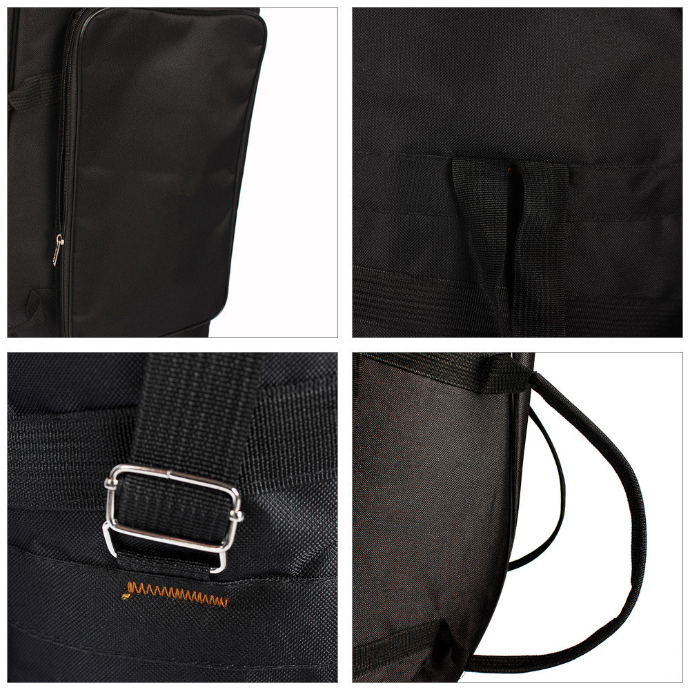 Oxford Cloth Water-resistant Thicken Padded Cotton Case for Musical Instrument