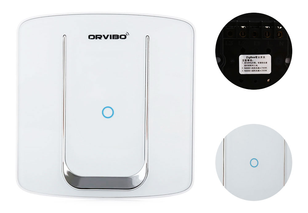 Orvibo ZigBee Smart Switch WiFi Remote Control Wall Light Touch Screen Smart Home Appliance