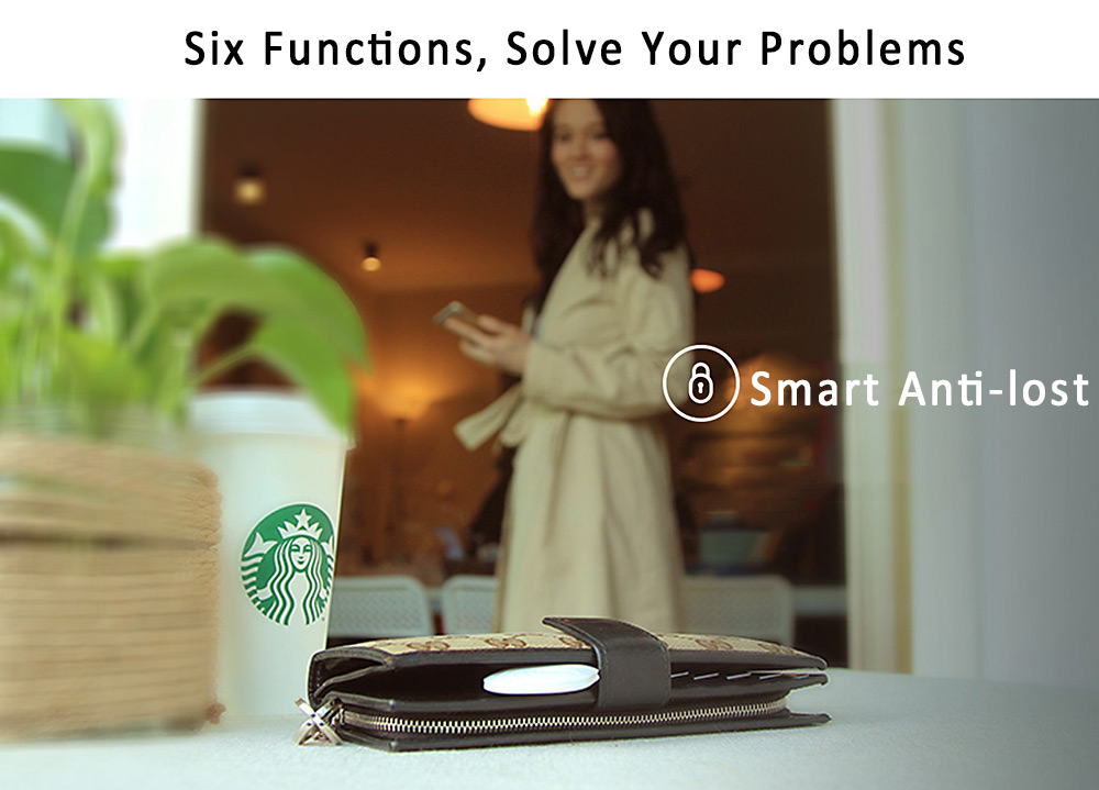 Nut 3 Wireless Bluetooth Anti-lost Tracker Remainder Alarm System Mini Size Portable for iOS Android System