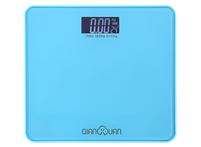 QIANXUAN QB - 2003 Precision Body Fat Scales Electronic LCD Personal Weighing Tool Temperature Display
