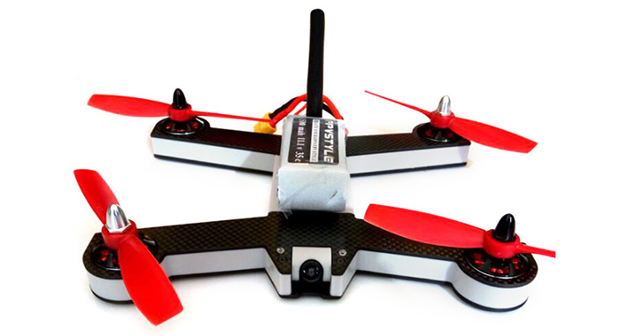 FPVSTYLE UNICORN 220 8 Channel 2.4G 6-axis-gyro Racing Quadcopter with PAL CAM