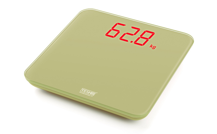 YESHM YHB1310 Digital Personal Scales 1.8 inch LED Electronic Precision Body Fat Weighing Tool