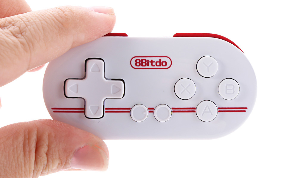 8Bitdo ZERO FC30 Multi-function Small Bluetooth Remote Controller for Android iOS OSX Windows