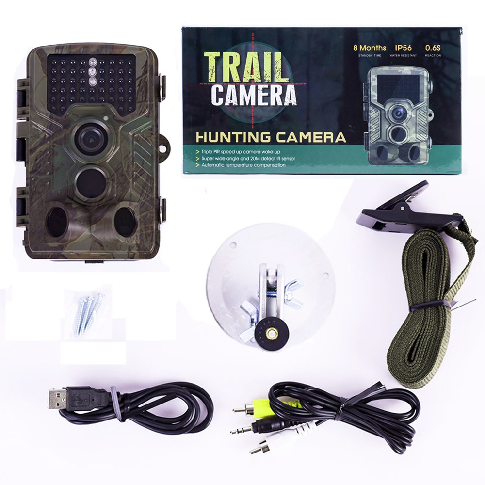 H801 IP56 Waterproof Infrared Trail Game Hunting Camera for Outdoor Camping
