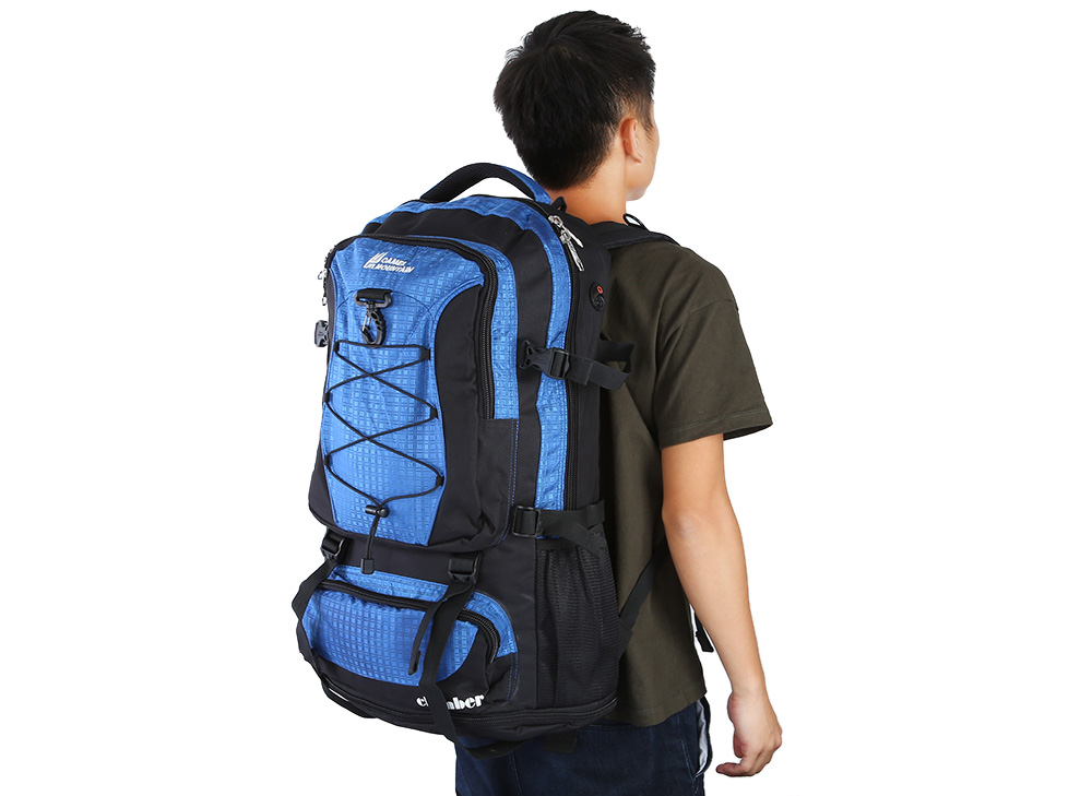 CAMEL MOUNTAIN 45L Nylon Cycling Backpack Orienteering Source for Outdoor Travel