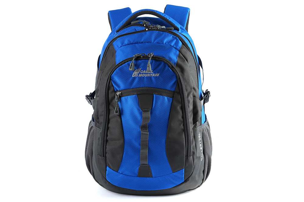 CAMEL MOUNTAIN 35L Nylon Travel Backpack for Outdoor Cycling
