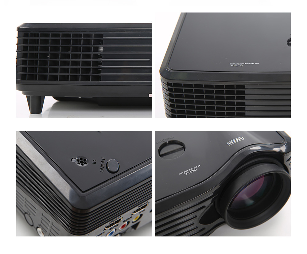 VS508 LCD Projector 2000Lm 800 x 480 Pixels 1080P Home Theater