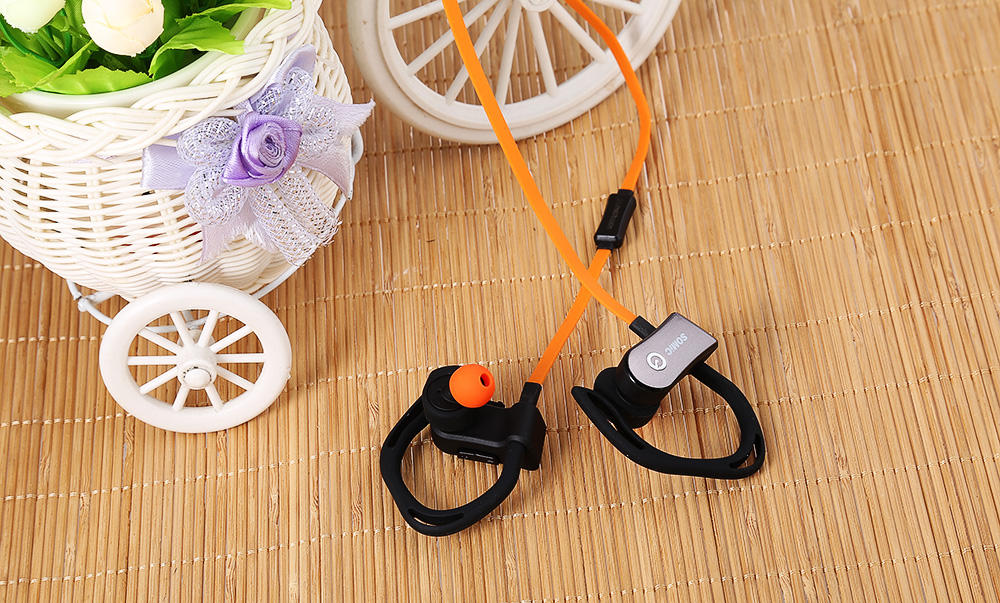 Somic S3 Bluetooth Sport Earbuds with Heart Rate Monitoring Function Waterproof Hands-free Calls