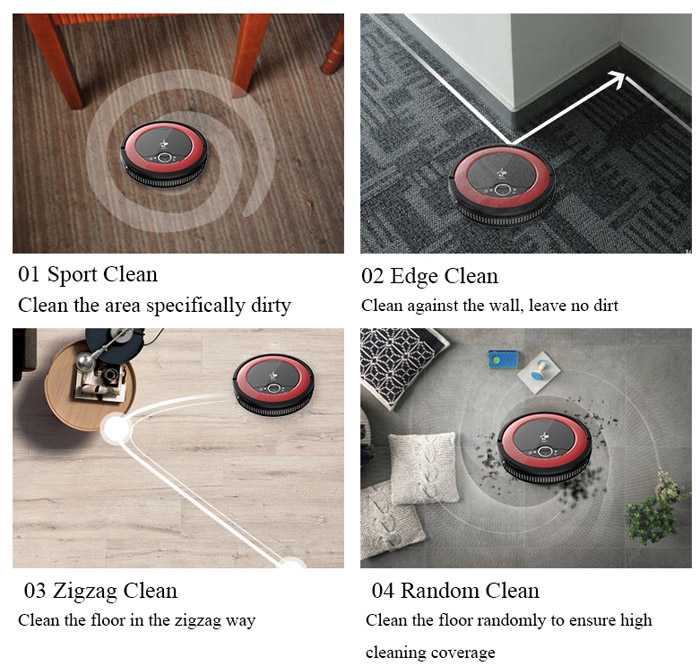 Donkey E1 Lite Middle Level Floor Cleaner Robot Smart Robotic Vacuum Cleaner Machine