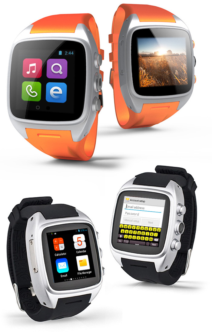 TenFifteen X01 Android 4.2 1.5 inch 3G Smartwatch Phone MTK6572 Dual Core 1.0GHz 512MB RAM 4GB ROM Waterproof Pedometer GPS