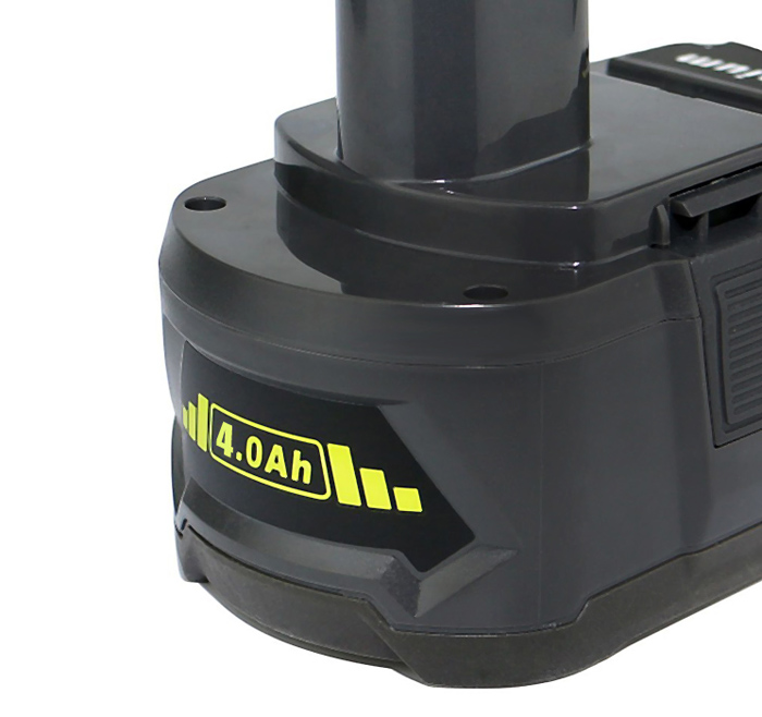 4.0Ah 18 Volt Lithium Ion Replacement Battery for Ryobi P104 P105 P102 P103 P107