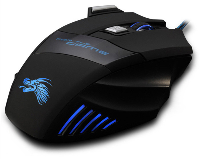 X3 USB Wired Optical Gaming Mouse Game Mice