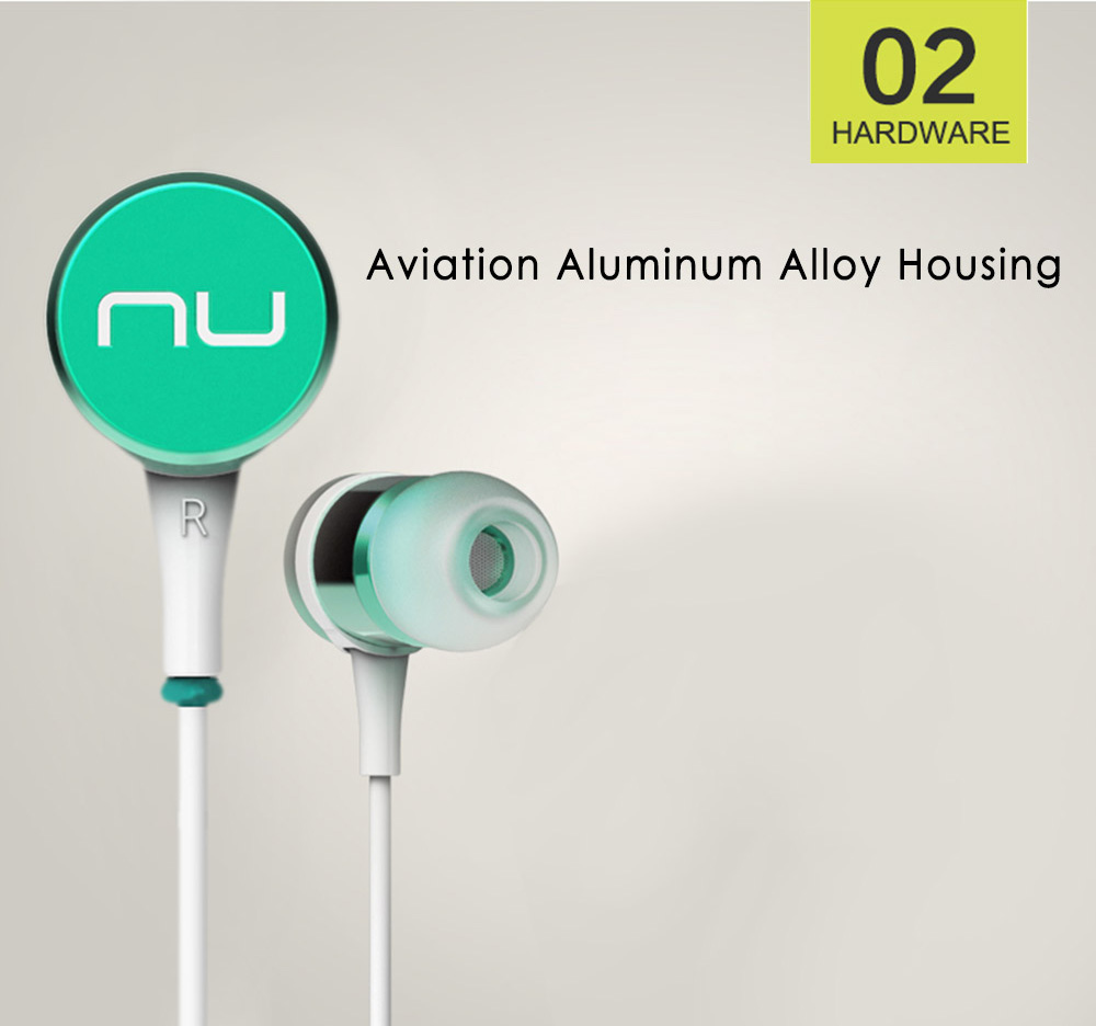 Nuforce Ne - Pi HiFi In-ear Earphones with Mic Support Hands-free Calls