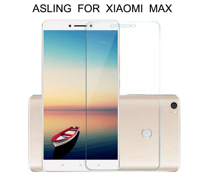 ASLING Protective Tempered Glass Screen Film for Xiaomi Max 0.26mm Anti-scratch Shatterproof