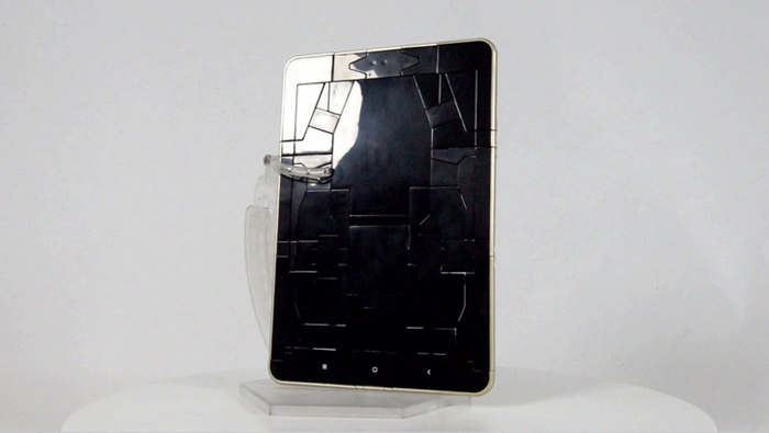 Original Xiaomi Cool Transformable Robot Model Tablet Appearance Special Edition Sound Waves