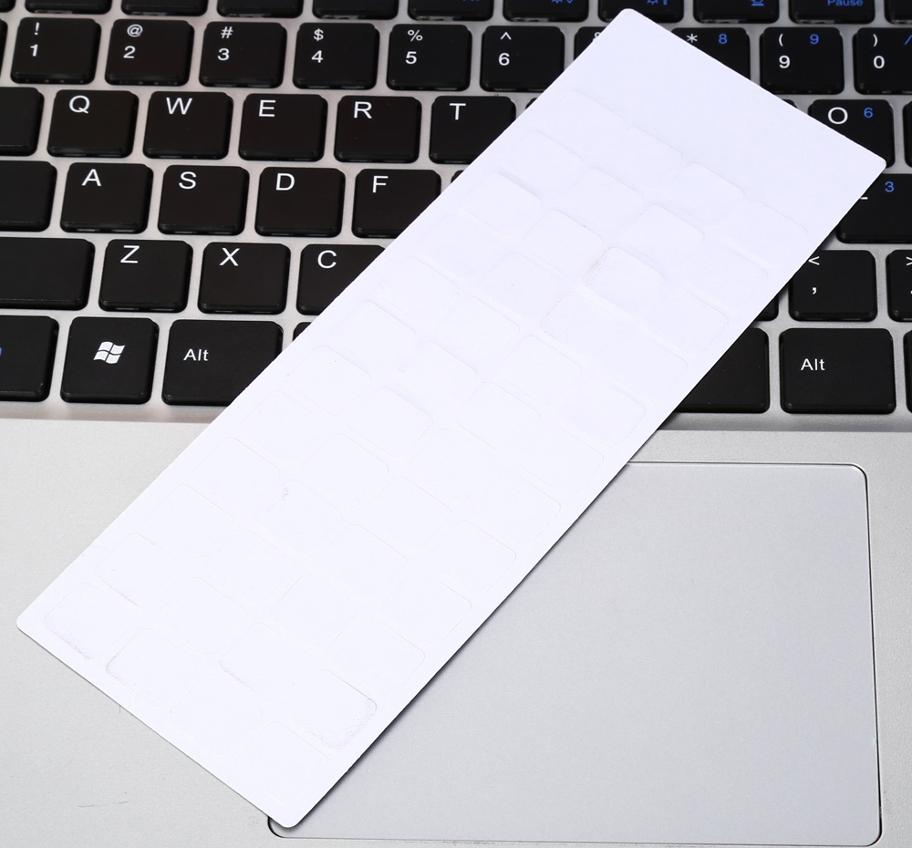 Removable Spanish Frosted Keyboard Sticker for Laptop