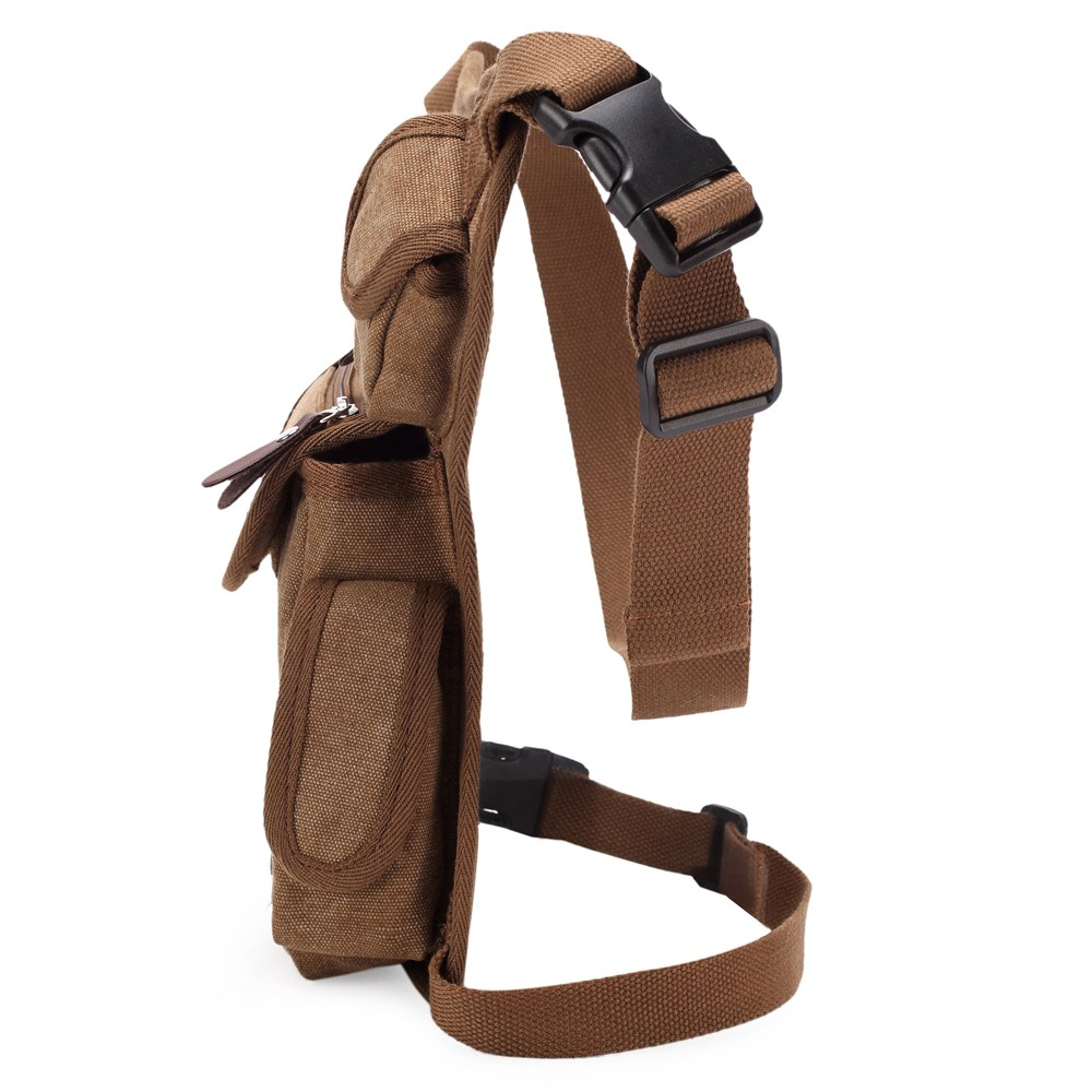 Kabden Outdoor 4L Waist Leg Pack Phone Pockets for Cycling Hiking Traveling
