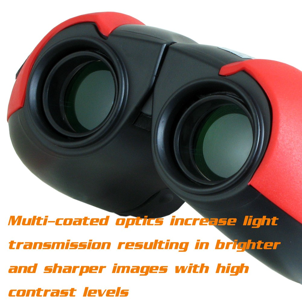 Kinglux BT5563B Optical Kids Binocular BAK4 Prism Telescope