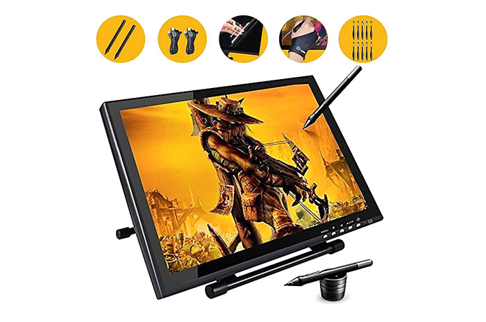 UGEE UG - 1910B 19 inch P50S Pen Smart Graphics Tablet 5080 LPI Resolution for Painting
