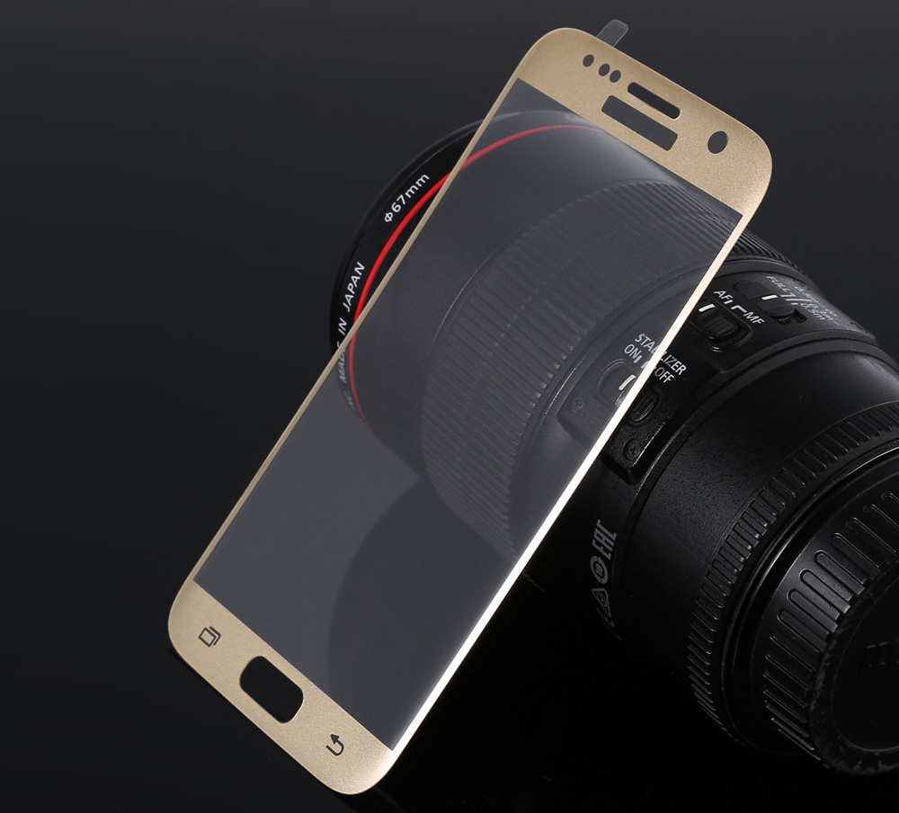 ASLING Tempered Glass Screen Protector for Samsung S7 Ultra-thin 0.26mm 2.5D Arc Full Cover 9H Explosion-proof Protective Film