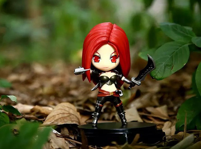 5.1 inch PVC Static Figure Model Video Game Collectible Figurine Toy