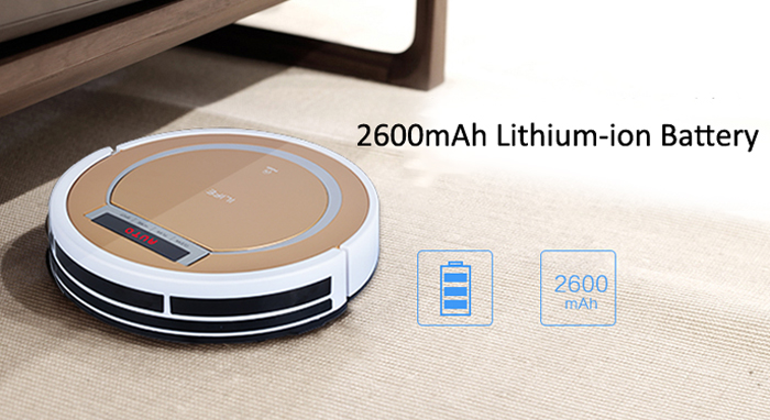 ILIFE X5 Smart Robotic Vacuum Cleaner Cordless 2 in 1 Dry Wet Sweeping Cleaning Machine