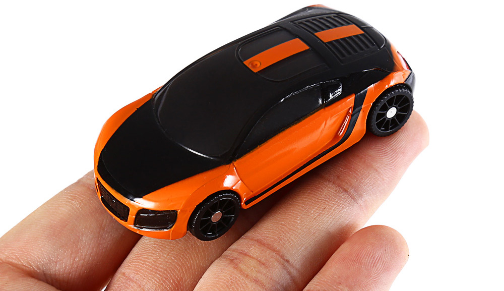 1pc 3D Smart Interactive Pocket Racing Car RC Vehicle Educational Toy for iPad Android Tablet