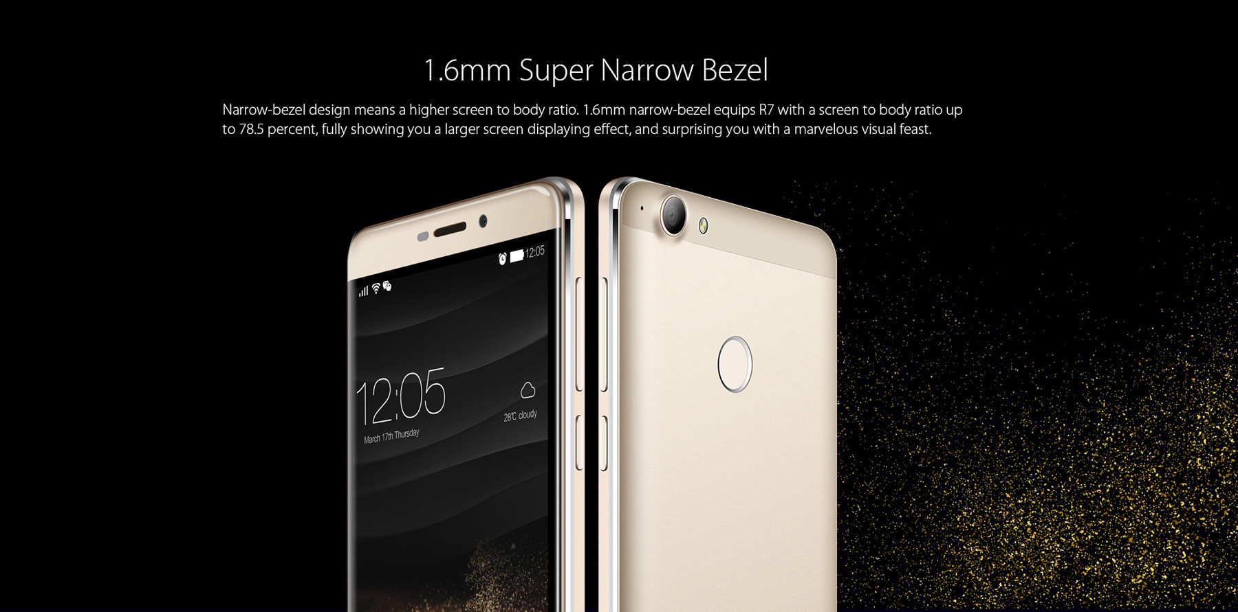 Blackview R7 Android 6.0 5.5 inch 4G Phablet MTK6755 Octa Core 2.0GHz  4GB RAM 32GB ROM Fingerprint Scanner Quick Charge