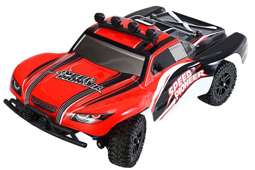 LBtoys 9301 - 1 1 / 18 Scale 2.4G 4WD 380 Brushed Motor Car 40KM/H RC Racing Truck