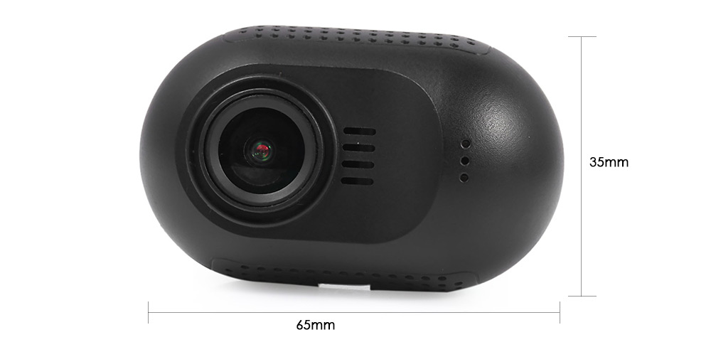 Mini 0903 - nano Q Full HD 135 Degree Wide Angle 1.5 inch TFT Screen Mini Car DVR Camera Recorder WiFi Function GPS Logger G-sensor Motion Detection Loop Cycle Recording