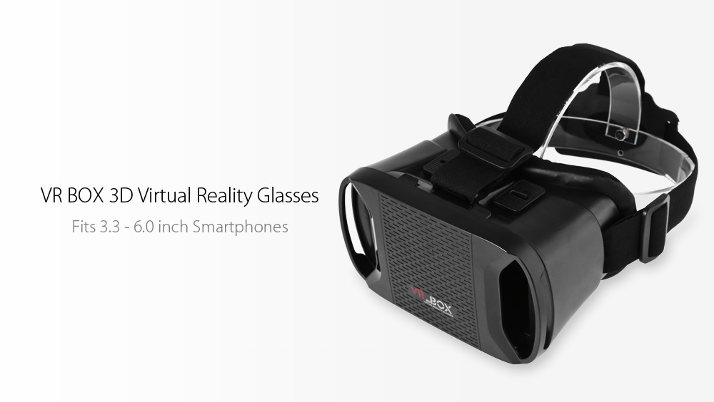 VR 3D BOX Glasses Virtual Reality Headset Private Theater Game Video for 3.3 - 6.0 inch Smartphone