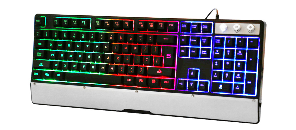 LeiJie G10 USB Wired Keyboard with LED Backlit