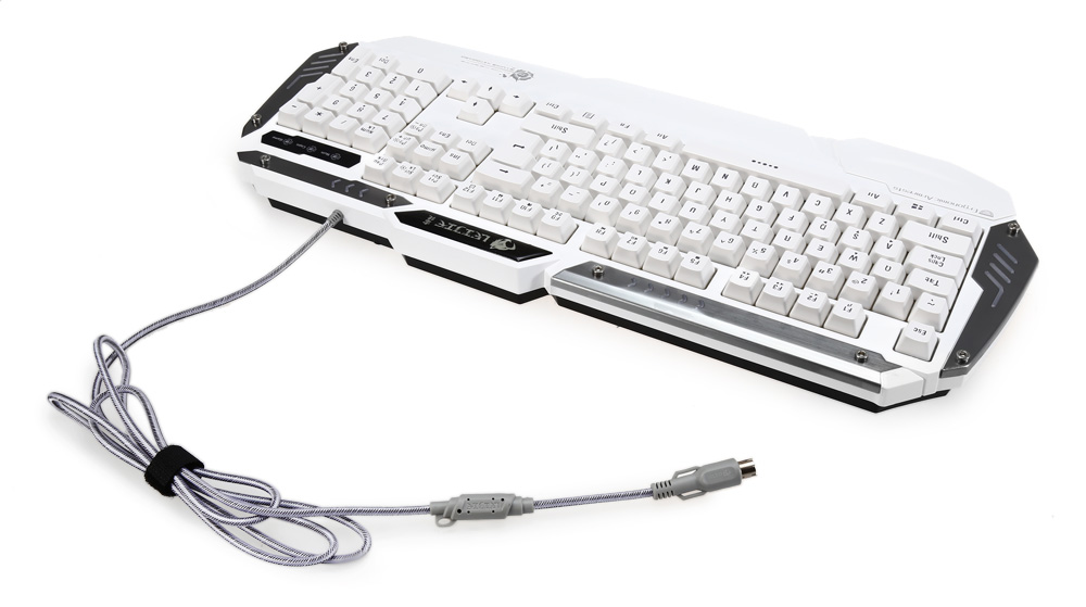 LeiJie K26 PS / 2 Wired Keyboard with LED Backlit