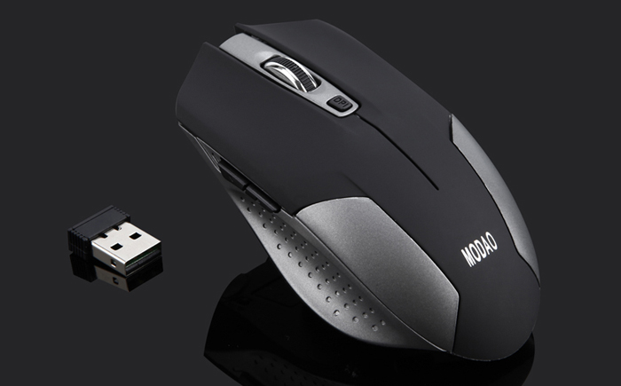 MODAO E31 Wireless 2.4G Gaming Mouse with DPI Key