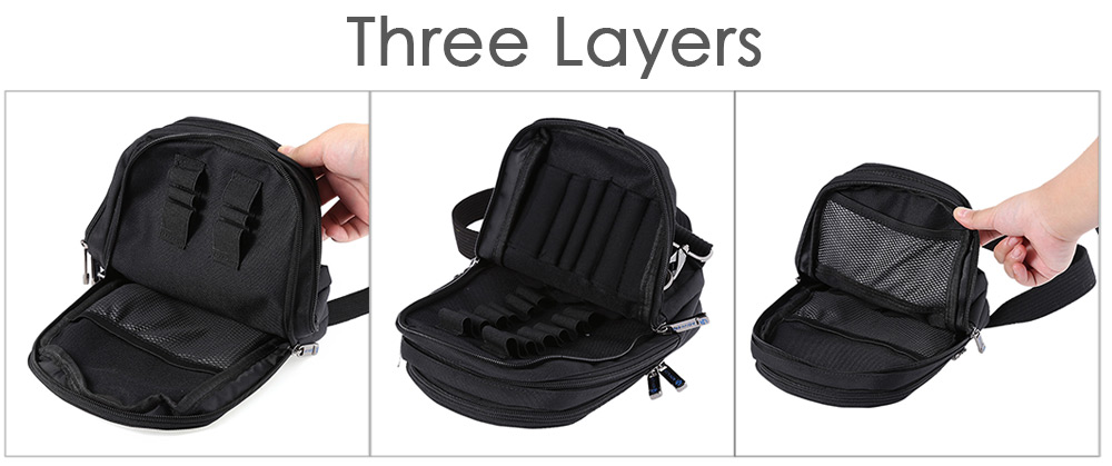 Advken Doctor Multifunctional Coil Tool Pack Coil Bag with 8 Kind Tools for E Cigarette DIY