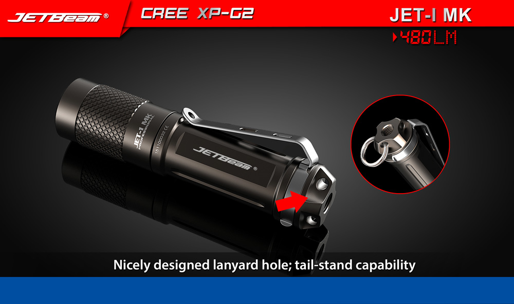 Jetbeam JET - I MK Cree XP - G2 480LM AA 14500 EDC LED Flashlight