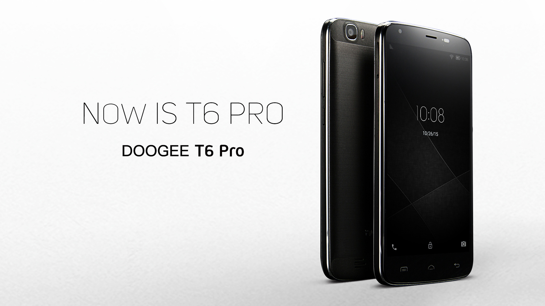 DOOGEE T6 Pro 5.5 inch 4G Phablet Android 6.0 MTK6753 64bit Octa Core 1.5GHz OTA Hotknot 3GB + 32GB 13.0MP Main Camera HotKnot 6250mAh Battery