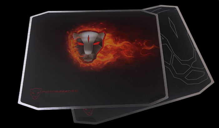 Motospeed P10 Mouse Pad Double Sided Aluminum Alloy Protecting Item