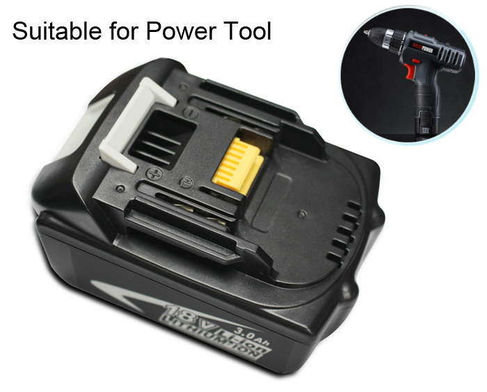 Makita BL1830 Replaceable Lithium Ion Battery 3.0Ah 18V