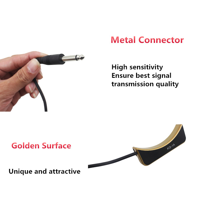 KQ - 1A 3M Soundhole Pickup Dedicated Amplifier Accessory for Guitar