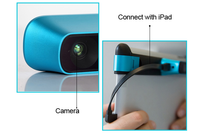 Structure Sensor 3D Scanner Object Scanning Device for iPad Mini2 / 3