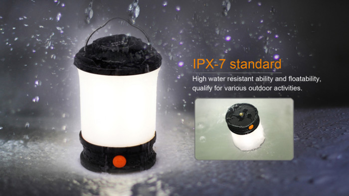 Fenix CL30R 650Lm Rechargeable LED Camping Lantern Outdoor Light