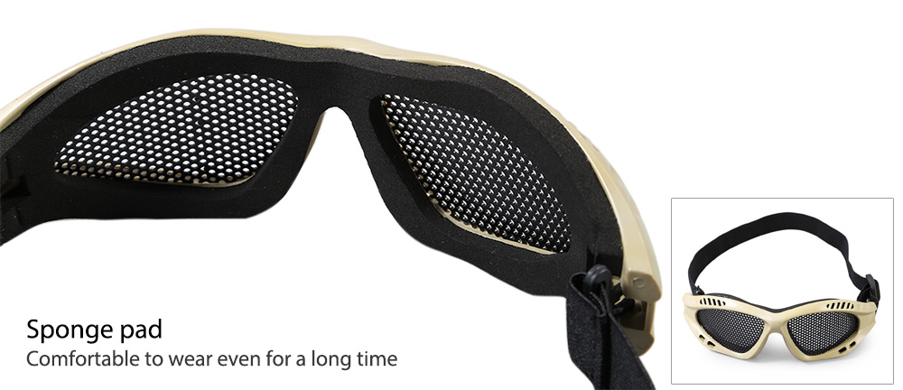 JINJULI Protective Eyewear Windproof Goggles for Outdoor Sports