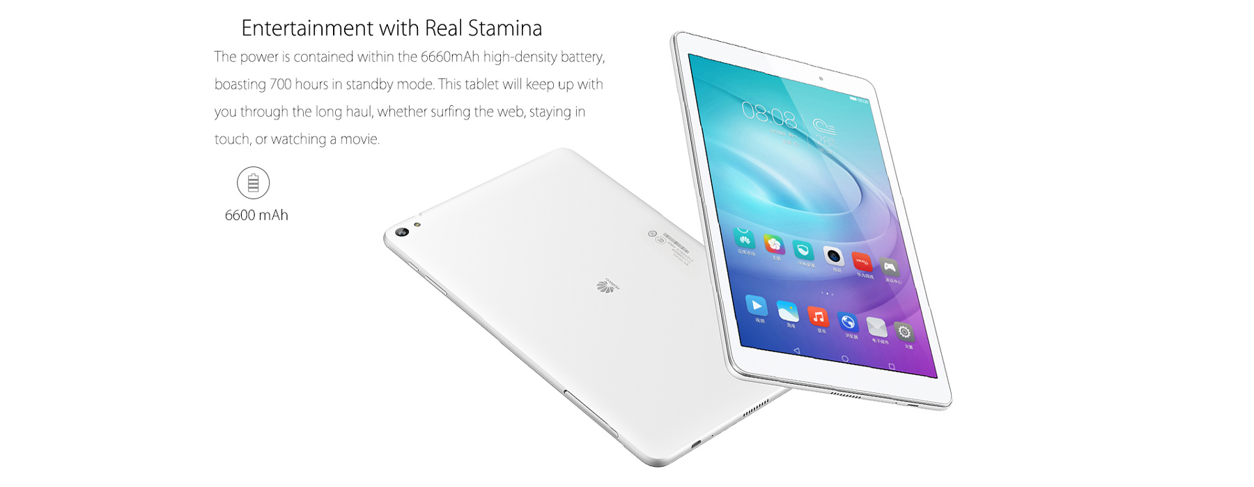 HUAWEI M2 FDR-A03L Android 5.1 Tablet PC Snapdragon 615 Octa Core 1.2GHz 10.1 inch Screen 3GB RAM 16GB ROM 8.0MP Main Camera GPS Bluetooth 4.1