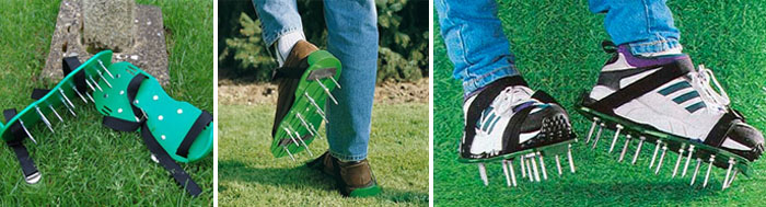 Gardening Lawn Aerating Sandals Scarifier Shoes with 13 Spikes