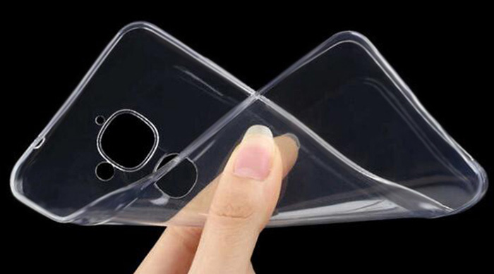 ASLING Transparent TPU Soft Case for Letv Max 2 Ultra Thin Phone Protector