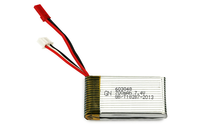 3 x 7.4V 700mAh Battery + US Plug Charger Set Accessory for MJX X600 Multicopter