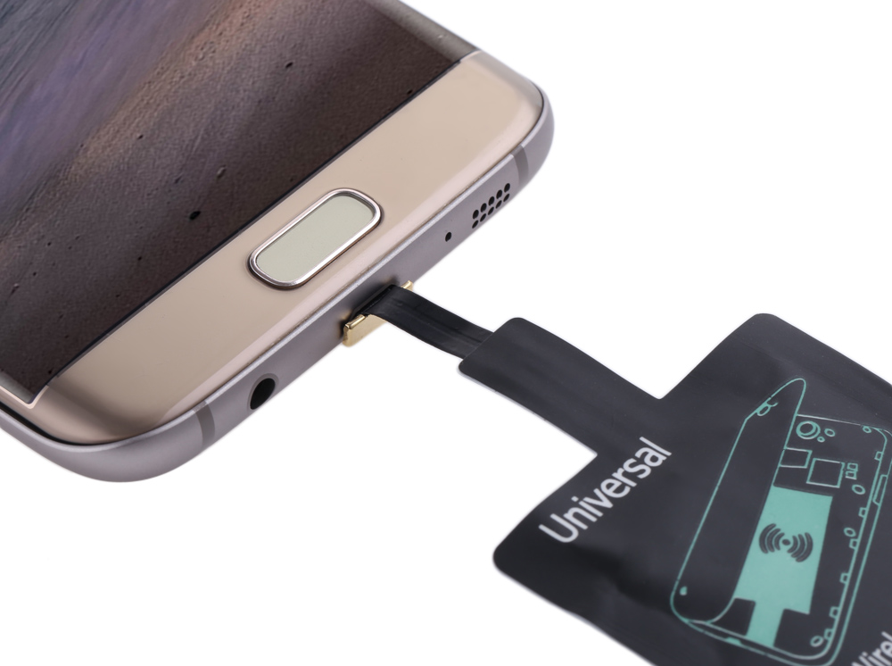 Android Devices Wireless Charging Adapter Module Wide Top and Narrow Bottom Type